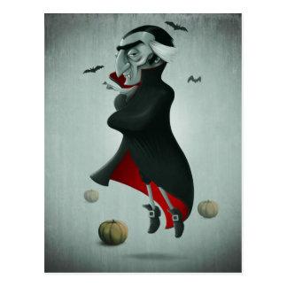 Vampir Halloween Postkarten