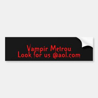Vampir Metrou, suchen uns @aol.com Autoaufkleber