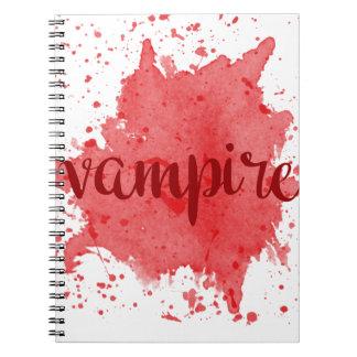Vampir Notizblock