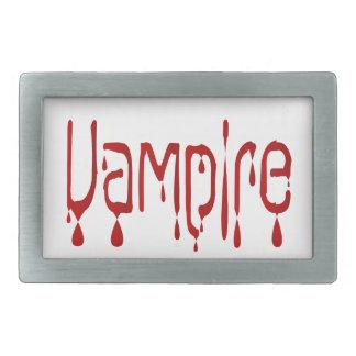 Vampir Rechteckige Gürtelschnalle
