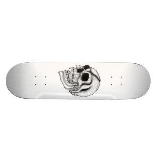 Vampir Schädel black and white design Individuelle Skateboarddecks