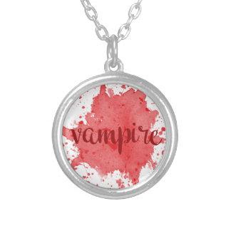 Vampir Versilberte Kette