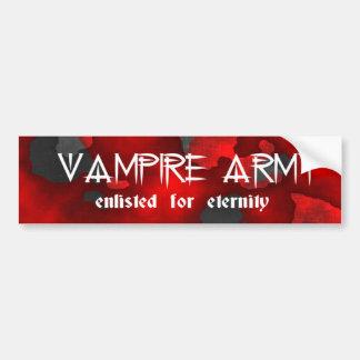 Vampire-Armee-gotischer Spaß Autosticker