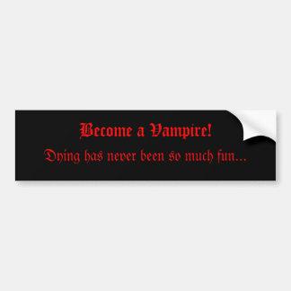 Vampire-Autoaufkleber Autoaufkleber