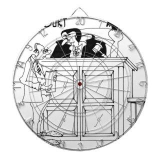 Vampire-Cartoon 5319 Dartscheibe