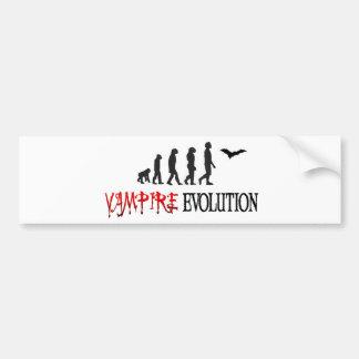 Vampire-Evolution Autoaufkleber