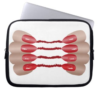 Vampirfinger V.2 Laptop Schutzhüllen