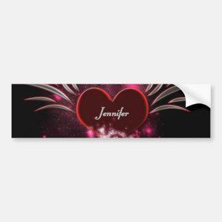 Vampire_Heart_Jennifer Auto Aufkleber