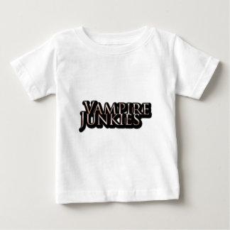Vampire Junkies - Schriftzug Baby T-shirt
