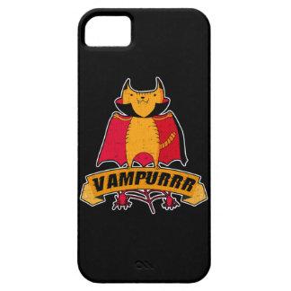 Vampire-Katzen-niedliches Cartoon-Wortspiel - iPhone 5 Etui