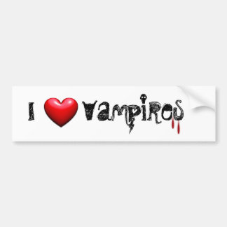 Vampire-Liebe Autoaufkleber