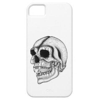 Vampire skull black and white Design iPhone 5 Etui