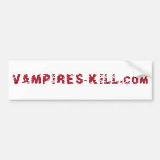 Vampires-kill.com Autoaufkleber