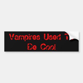 Vampires pflegten, um cool zu sein autoaufkleber