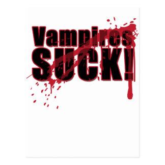 Vampires SIND ZUM KOTZEN 3 Postkarte