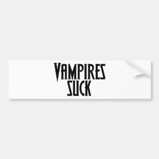 Vampires sind zum Kotzen Autoaufkleber