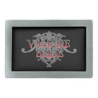 Vampirs-Braut Rechteckige Gürtelschnallen