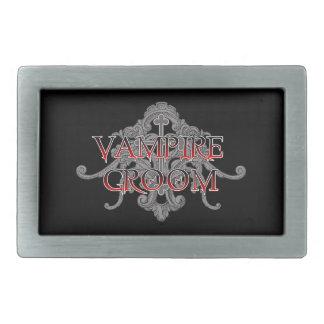 Vampirs-Bräutigam Rechteckige Gürtelschnallen