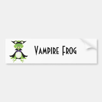 Vampirs-Frosch Autosticker