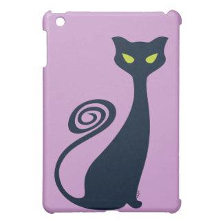 Vampirs-Katze mit grünen Augen iPad Mini Schale
