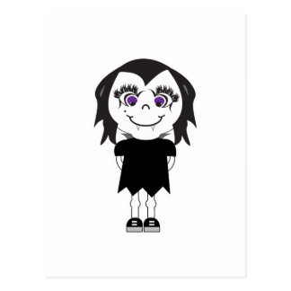 Vampirs-Mädchen-voller Körper