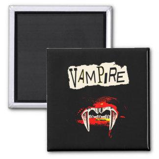 Vampirs-Punk Quadratischer Magnet