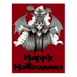 Vampirs-Umwandlung Postkarte