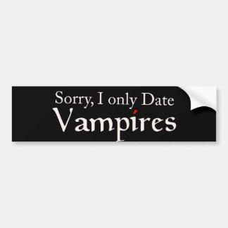 Vampirs-Vampirs-Fan Halloween Autosticker