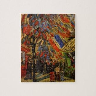 Van Gogh; 14. von Juli-Feier in Paris Puzzle
