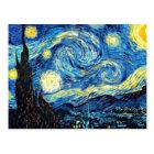 Van Gogh berühmte Malerei, sternenklare Nacht Postkarte