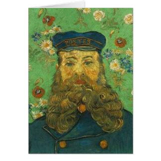 Van Gogh Briefträger Karte