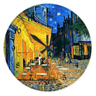 Van Gogh: Café-Terrasse Uhren