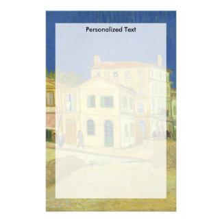Van Gogh | das gelbe Haus | 1888 Briefpapier