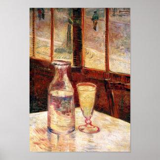 Van Gogh - das Stillleben mit Wermut Plakate