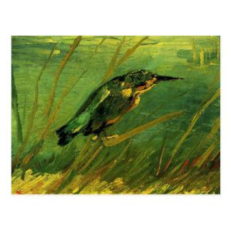 Van Gogh der Eisvogel, Vintage Postkarte