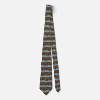 Van Gogh der grüne Weinberg, Vintage feine Kunst Bedruckte Krawatten