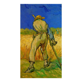 Van Gogh; Der Sensenmann, Vintager Poster