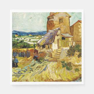 Van Gogh - die alte Mühle Serviette