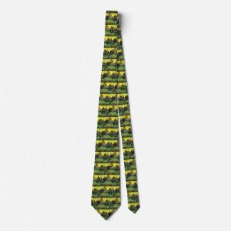 Van Gogh die der Garten-Vintage Natur-feine Kunst Individuelle Krawatten