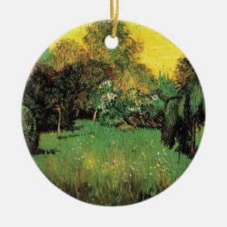 Van Gogh die der Garten-Vintage Natur-feine Kunst Keramik Ornament