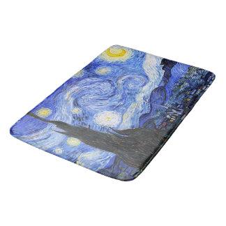Van Gogh die sternenklare Nacht Badematten