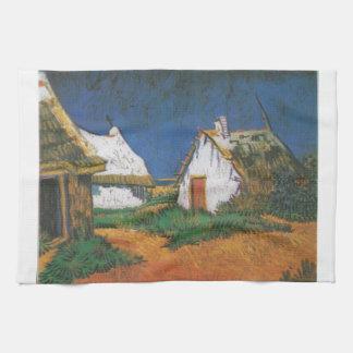 Van_Gogh_-_Drei_weiße_Hütten_in_Saintes-Maries Geschirrtuch