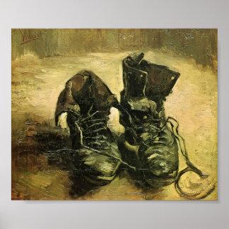 Van Gogh - ein Paar Schuhe Poster