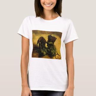 Van Gogh ein Paare Schuhe, Vintage noch T-Shirt