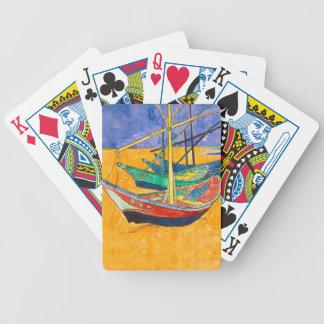 Van Gogh Gemälde-berühmte Boote Bicycle Spielkarten