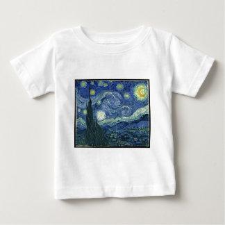 Van Gogh Gemälde: Sternenklare Nacht Van Gogh Baby T-shirt