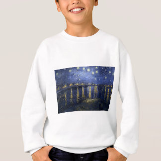 Van Gogh Gemälde: Sternenklare Nacht Van Gogh Sweatshirt