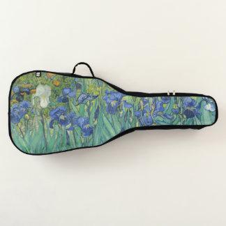 Van Gogh Irises Blumen-Garten-weichen Gitarrentasche