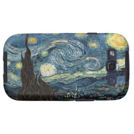 Van Gogh Kasten sternenklare NachtSamsung-Galaxie- Galaxy S3 Hülle