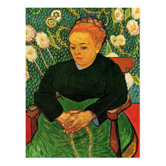 Van Gogh, La Berceuse, Vintage Postkarte